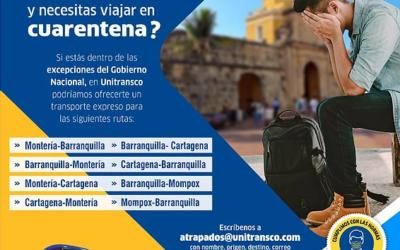 ¿Necesitas viajar en cuarentena?